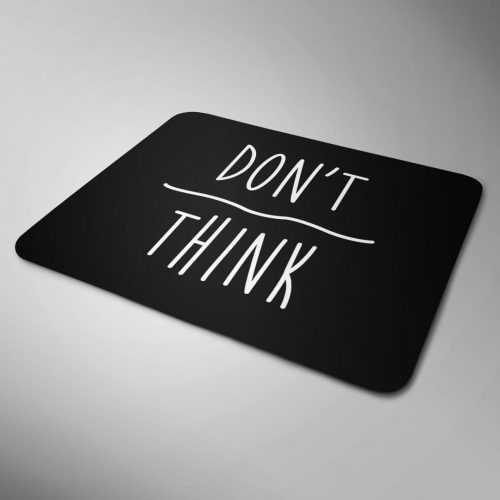 Motivational mouse pad
