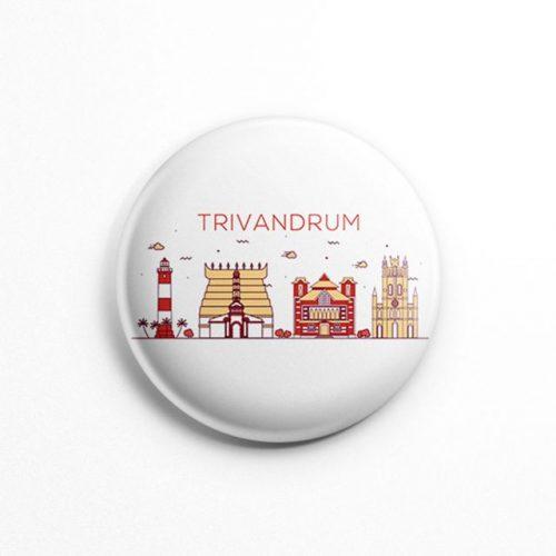 Trivandrum city badge
