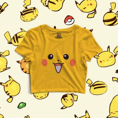 Pikachu crop top image