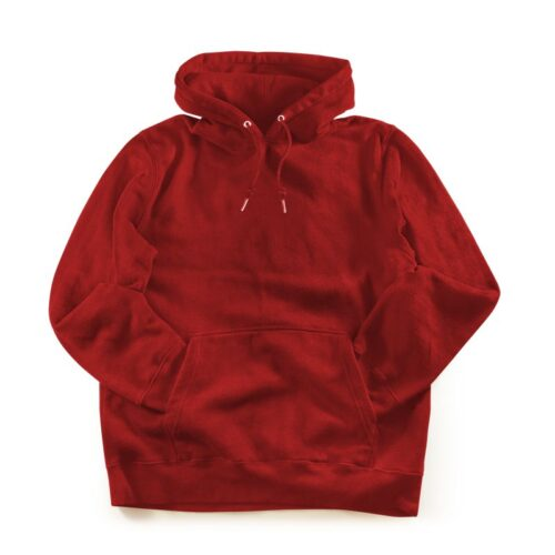 red-plain-hoodie-mydesignation-product-image