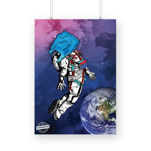 space-man-poster-a3-image