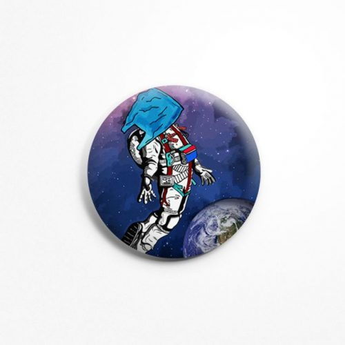 Spaceman badge image