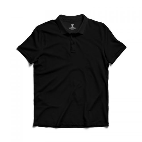 Black polo tshirt image mydesignation