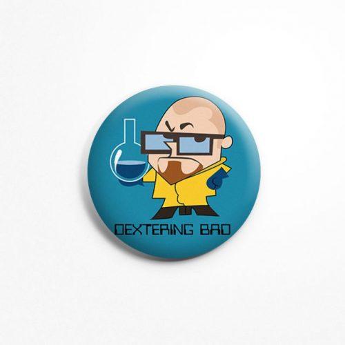 Dextering bad badge image