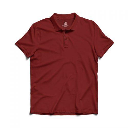 Maroon polo tshirt image mydesignation