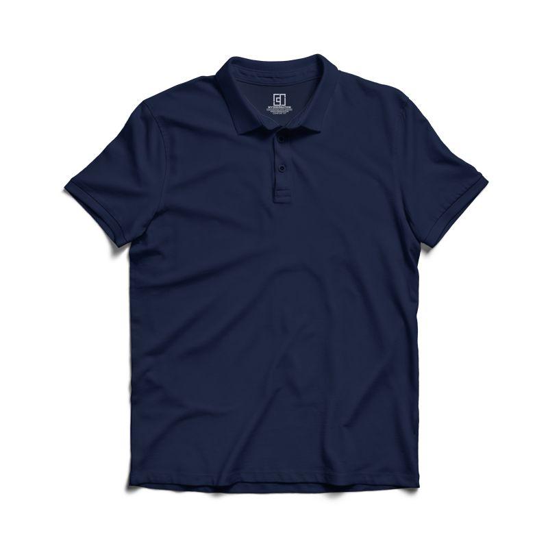 Navy blue polo tshirt image mydesignation