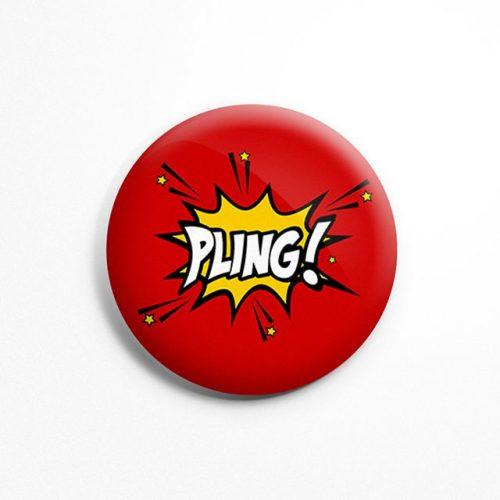 Pling badge image