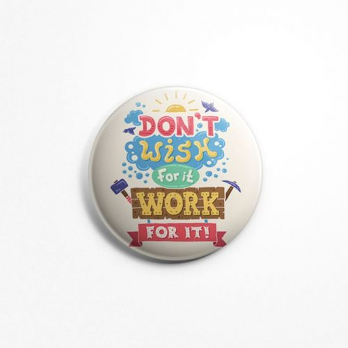 Work for it badge image