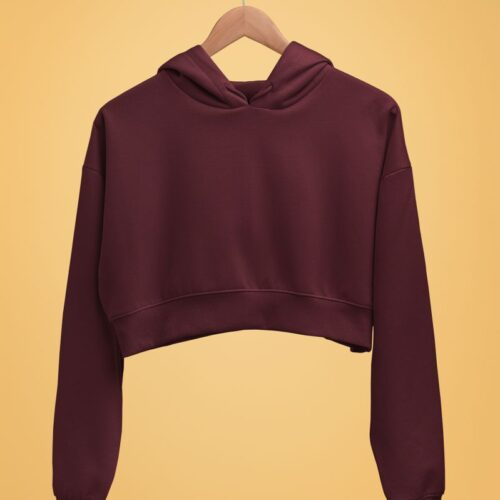 burgundy-crop-hoodie-for-women-mockup-image-latest-mydesignation-