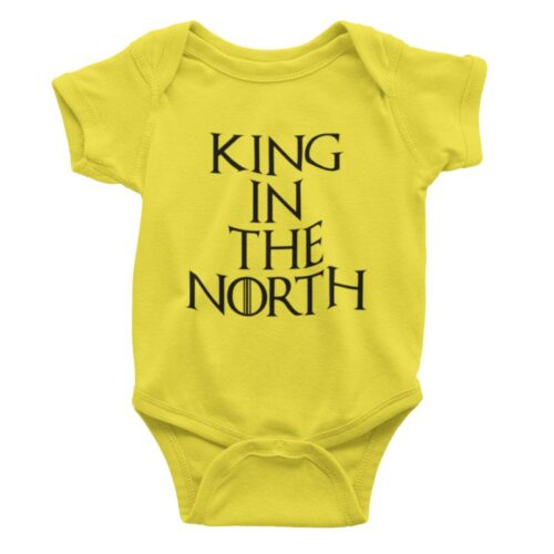 king-in-the-north-baby-romper-image