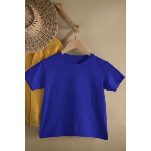 royal-blue-kids-tshirt-plain-image-