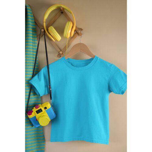 sky-blue-kids-tshirt-plain-image-