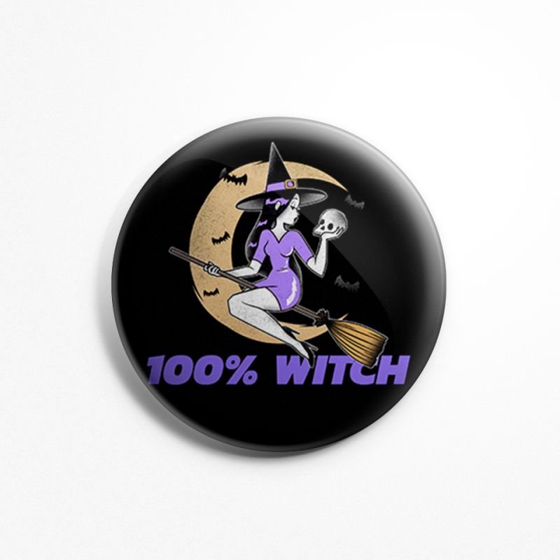 100-witch-badge-image