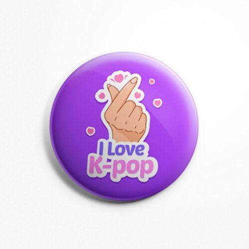 i-love-kpop-badge