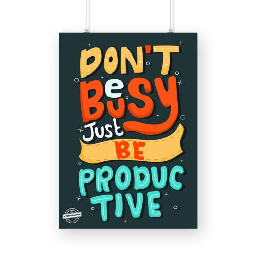 be-productive-poster-a3-image
