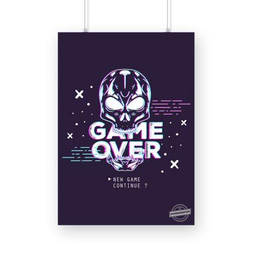 game-over-poster-a3-image