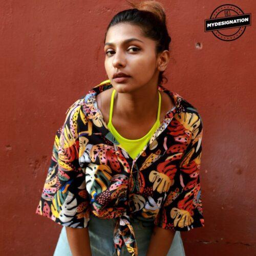 tropical-pattern-shirt-mydesignation-female-model-image