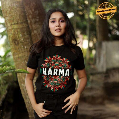karma-tshirt-mydesignation-anikha-surendran-image-